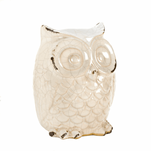 Distressed Owl Figurine