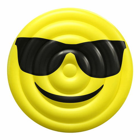 Emoji Sunglasses Giant Pool Float