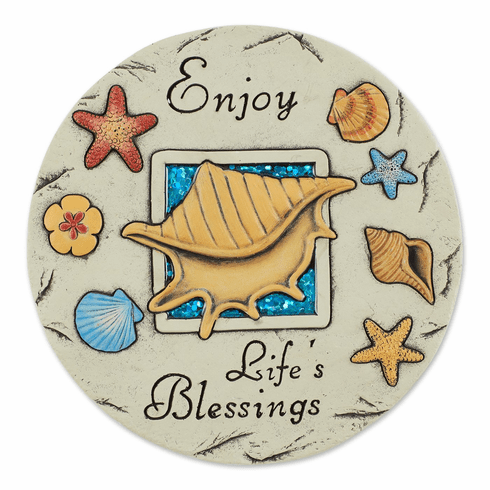 Enjoy Life's Blessings Stepping Stone