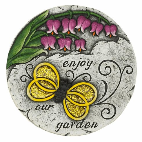 Enjoy Our Garden Stepping Stone