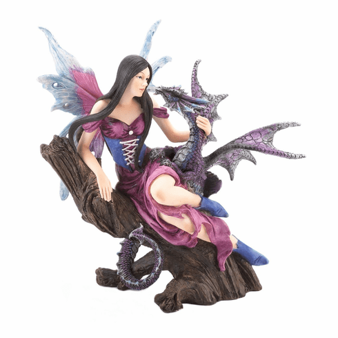 Fairy & Dragon Figurine