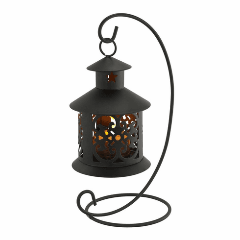 Flameless LED Tealight Hanging Lantern