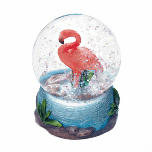Flamingo Mini Snow Globe