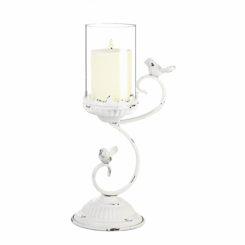 French Country Hurricane Candle Holder