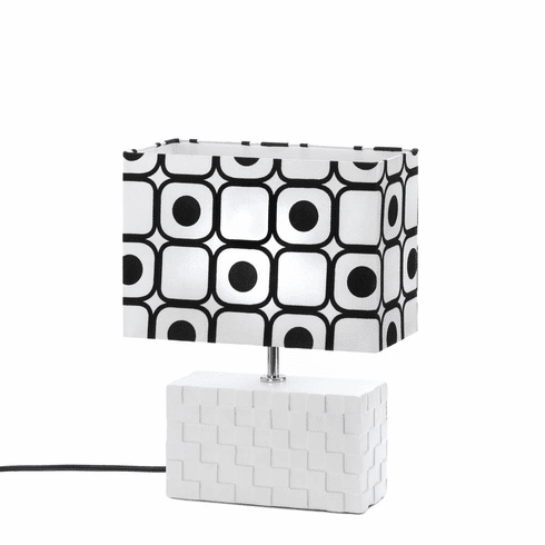 Geometric Pop Art Table Lamp