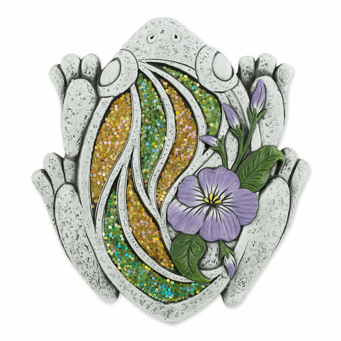 Glittering Frog Stepping Stone