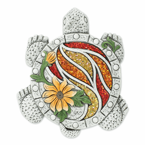 Glittering Turtle Stepping Stone