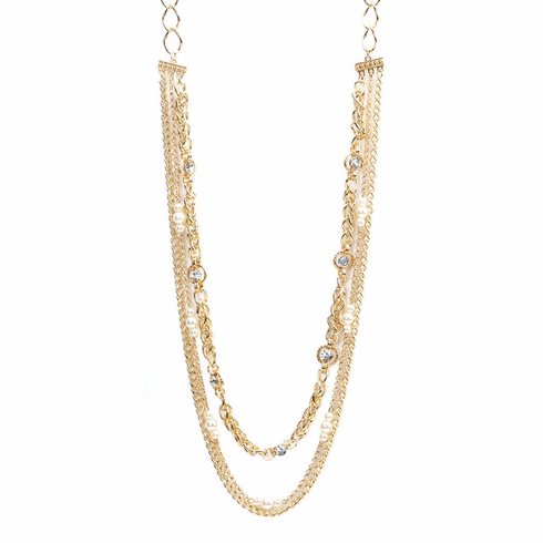 Golden Layers Necklace