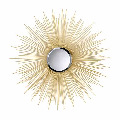 Golden Rays Sunburst Mirror