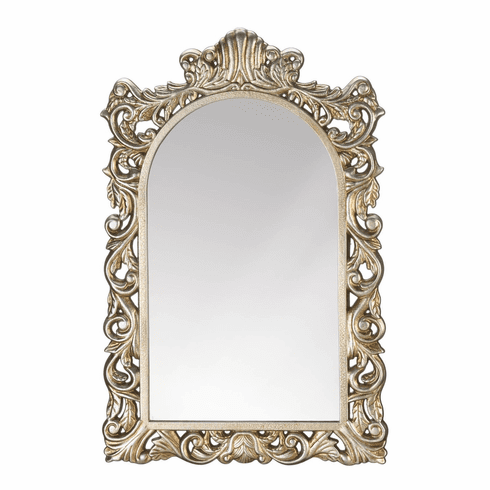 Grand Golden Wall Mirror