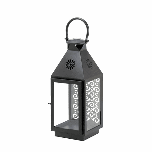 Hanging Black Candle Lantern
