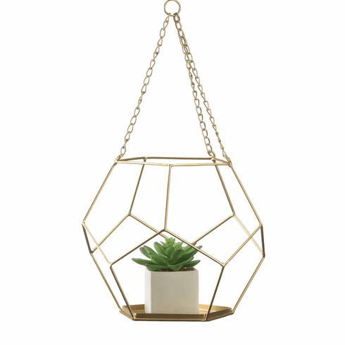 Hanging Geometric Plant Holder