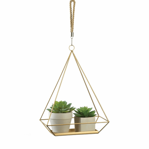 Hanging Plant Holder Rectangle Base
