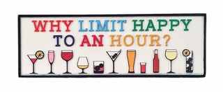 Happy Hour Decorative Sign