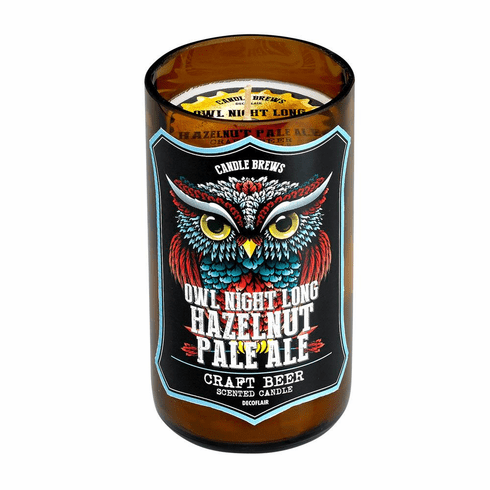 Hazelnut Pale Ale Beer Scented Candle