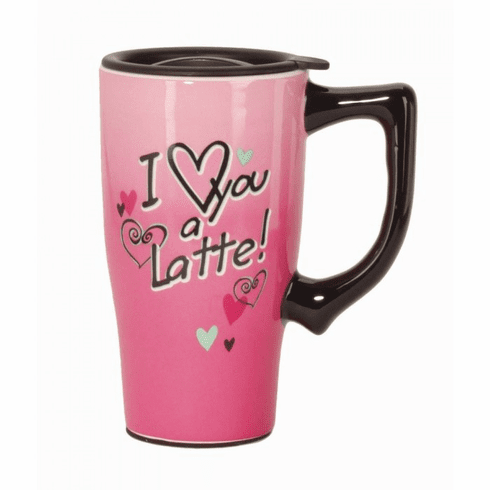 I Love You A Latte Travel Mug