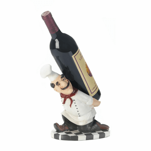 Italian Chefs Back Wine Holder
