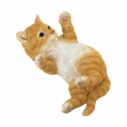 Kitty Cat In Motion Figurine