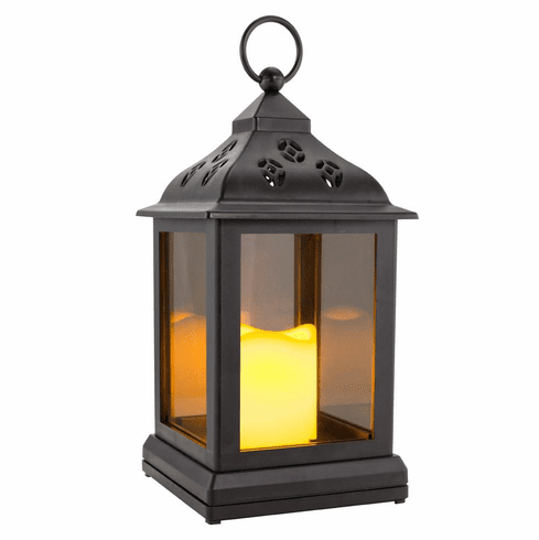 LED Flickering Light Lantern
