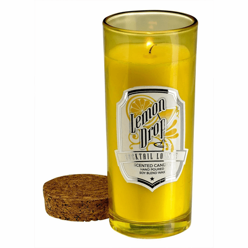 Lemon Drop Highball Scented Candle