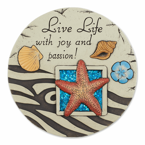 Live Life With Joy And Passion! Stepping Stone