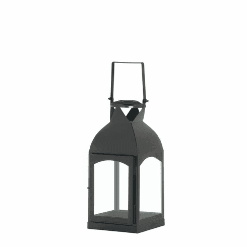 Medium Domed Black Candle Lantern
