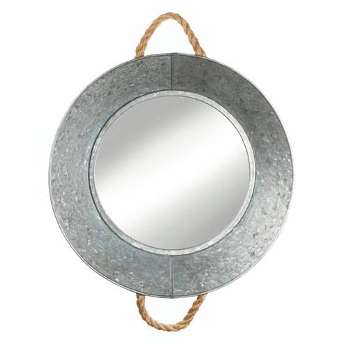 Metal Tin Wall Mirror