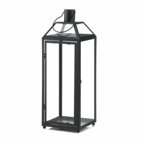 Midtown Large Black Lantern