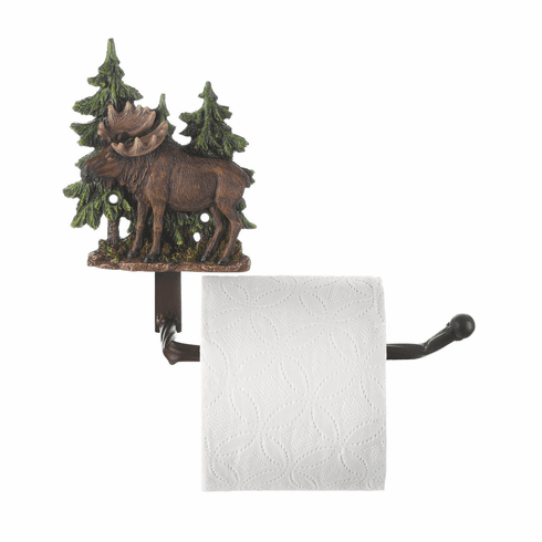 Moose Toilet Paper Holder