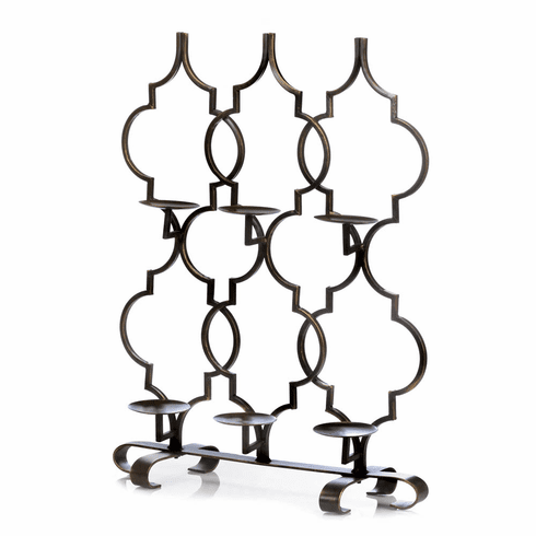 Moroccan Trellis Candle Holder
