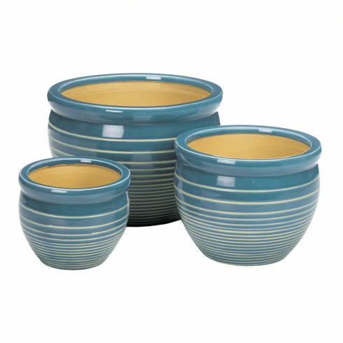 Ocean Breeze Planter Set