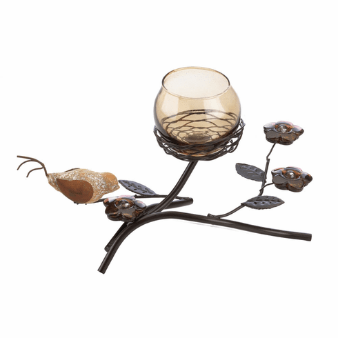 Partridge Nest Tealight Holder