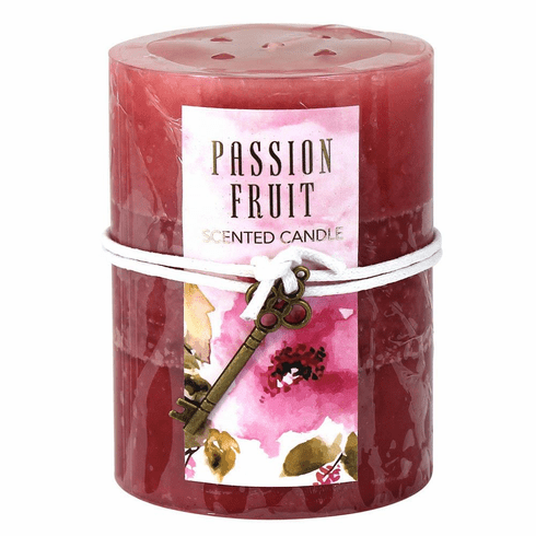 Passion Fruit Pillar Candle 3X4