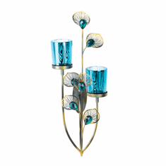 Peacock Plume Wall Sconce