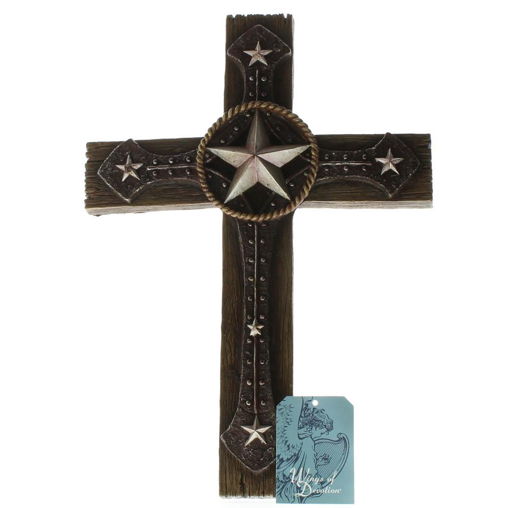 Rustic Cowboy Wall Cross Wholesale At Koehler Home Decor