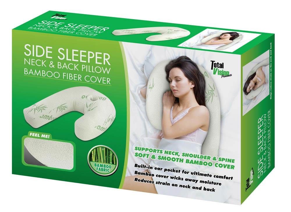 Side Sleeper PILLOW With Bamboo