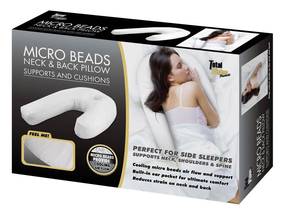Side Sleeper PILLOW With Cooling Beads