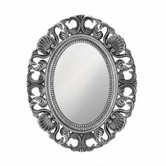 Silver Scallop Wall Mirror