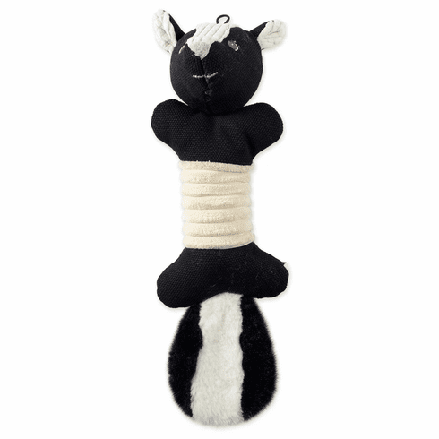Skunk Squeaky Bone Pet Toy