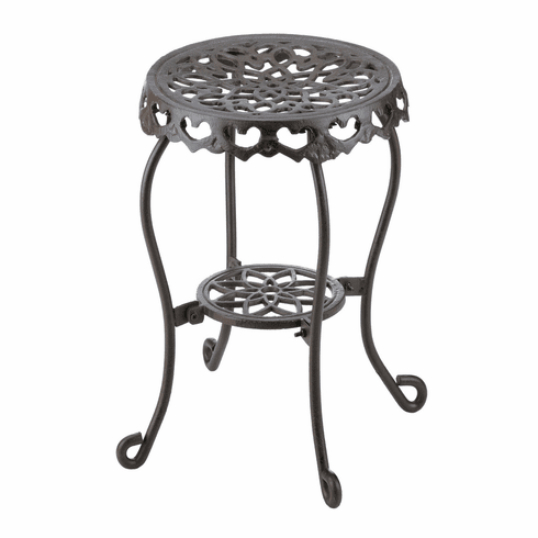 Small Cast Iron Side Table