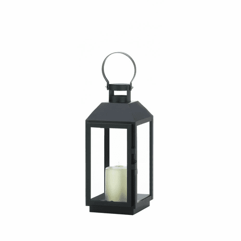 Small Ebony Candle Lantern