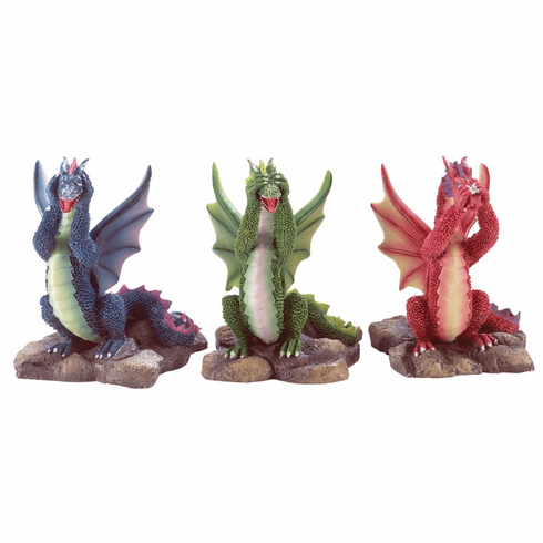 Speak Dragon Figurines