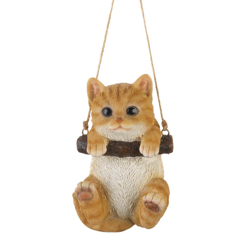 Swinging Kitty Decor Wholesale At Koehler Home Decor