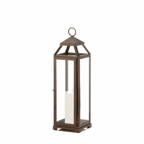 Tall Copper Lantern