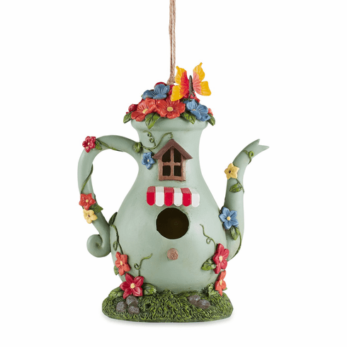 Tall Teapot Birdhouse