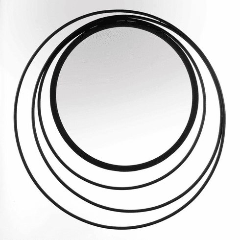 Three Ring Wall Mirror