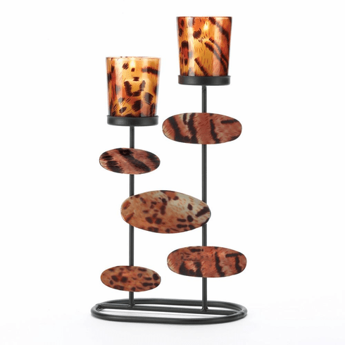 Tiger-Riffic Candle Holder