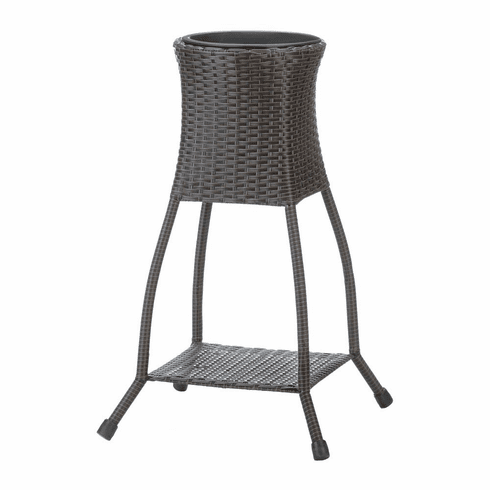 Tuscany Wicker Plant Stand