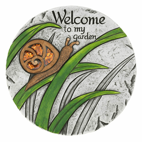 Welcome To My Garden Stepping Stone