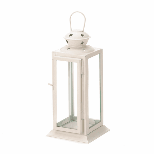 White Starlight Candle Lantern